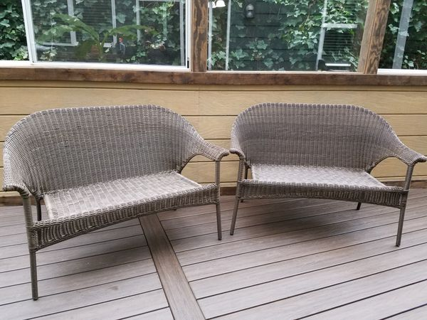 New Outdoor Patio Furniture Loveseat Bench Each Vancouver Wa