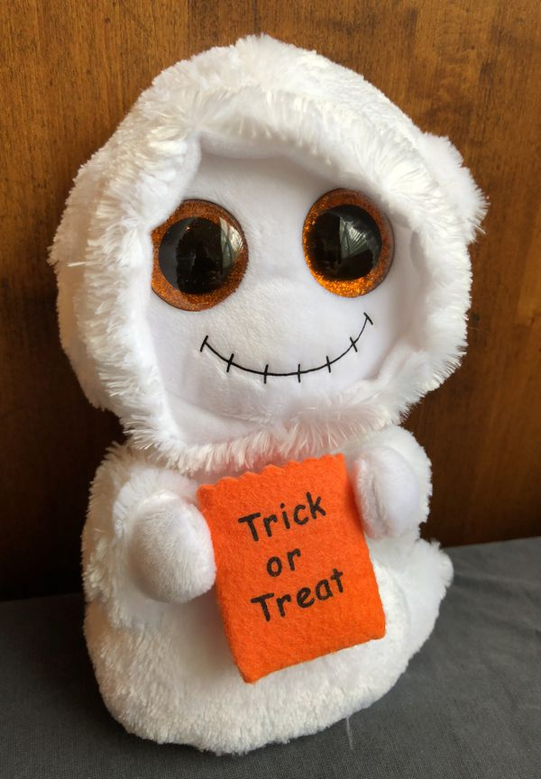 bd0b17e20cd NEW Ty beanie boo Mist Ghost glitter eyes Halloween for Sale in Ava ...