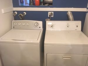 Kenmore Washer/Dryer For Sale OBO for Sale in Arlington, VA