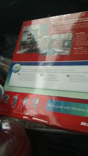 Microsoft lifecam vx-6000 for Sale in New Canton, VA