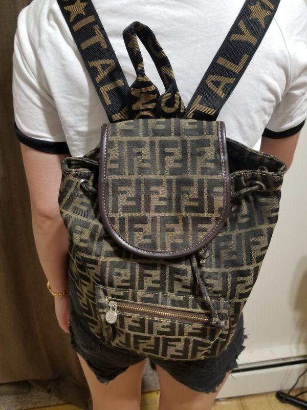 20c12f6ca7ac Vintage authentic fendi monogram backpack for Sale in Algonquin
