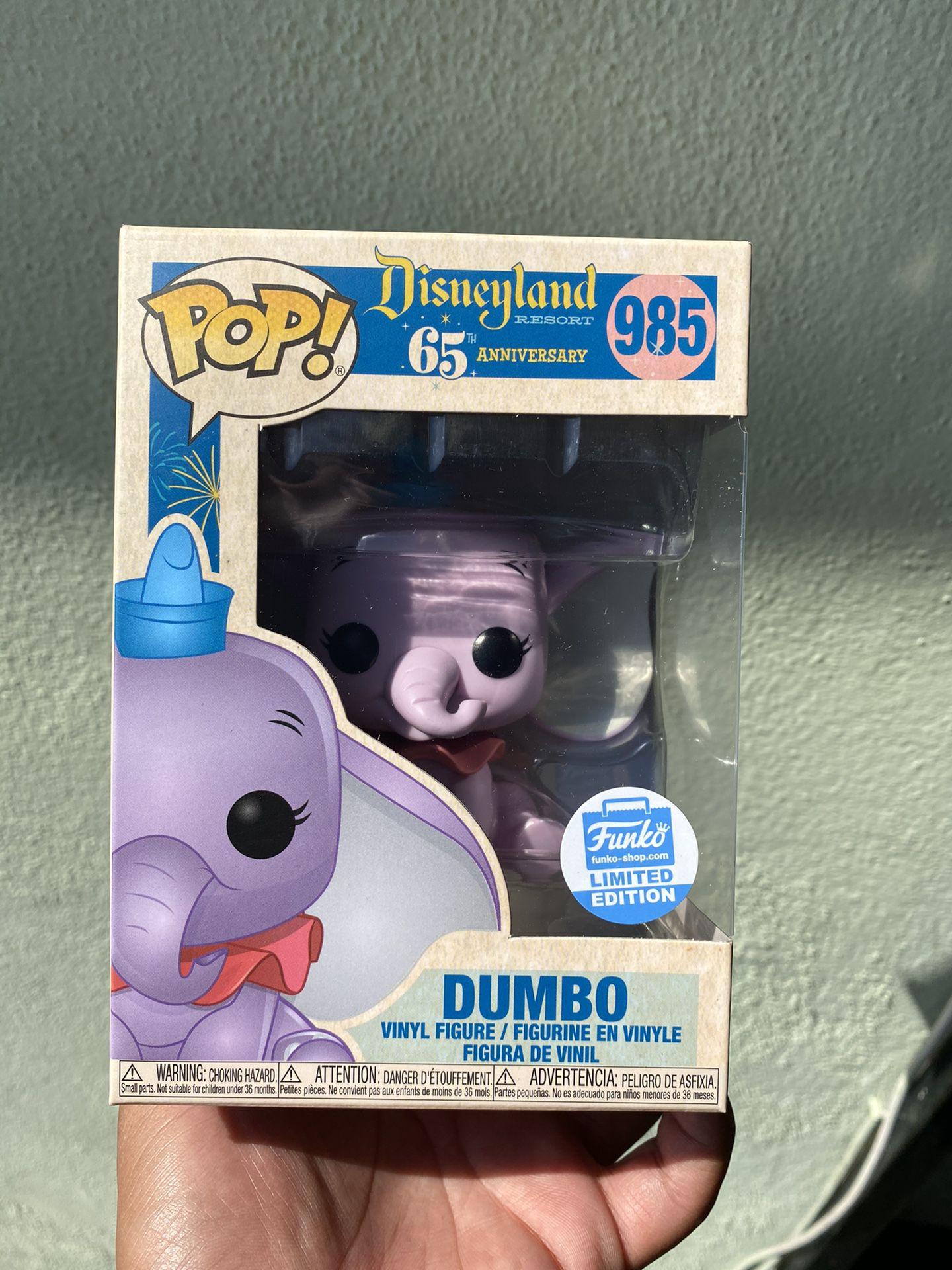 Dumbo funko pop límited edition