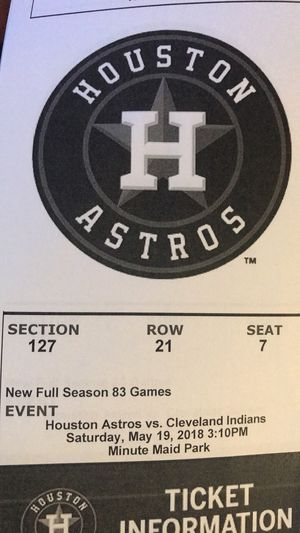 New and used Tickets for sale in Pearland 49bae0458