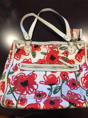 Coach flower print large bag for Sale in Falls Church, VA