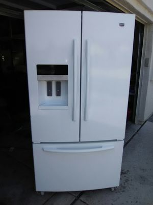 Maytag White French Door Bottom Freezer Refrigerator for Sale in Reno, NV