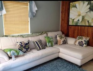 Cool New And Used White Leather Couch For Sale In Gainesville Fl Machost Co Dining Chair Design Ideas Machostcouk