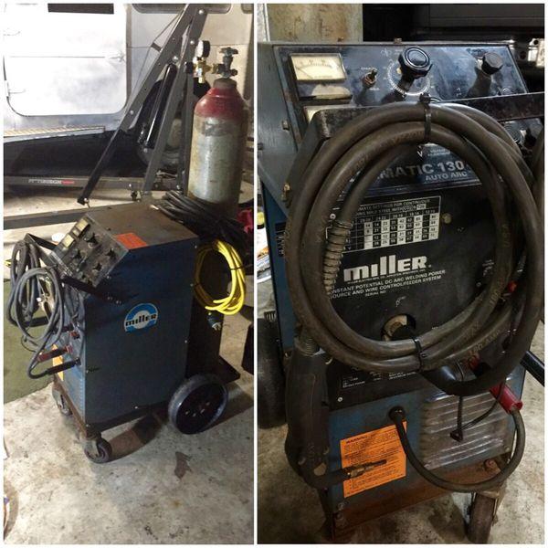 Millermatic 130 Auto Arc Mig Welder For Sale In Boerne Tx Offerup