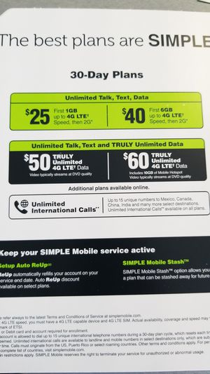LG Premier Pro LTE Simple Mobile (FREE With Port) for Sale