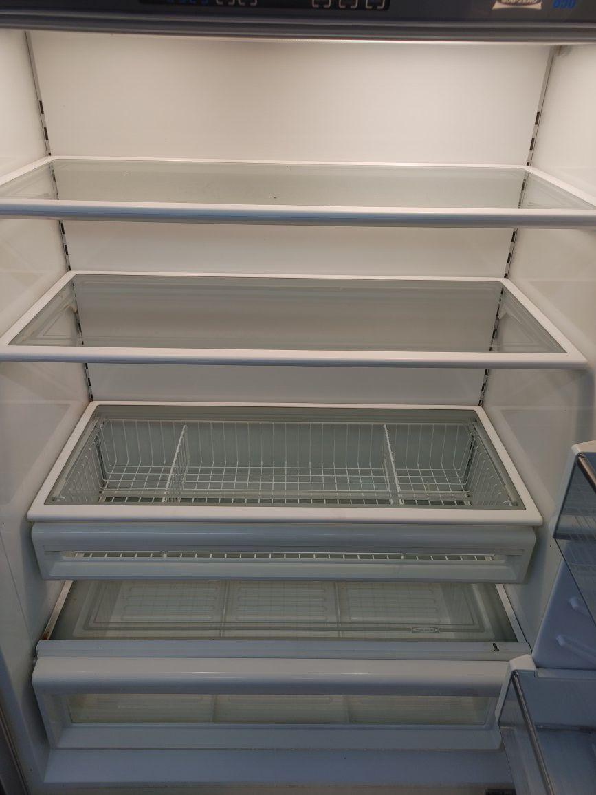 "Sub Zero 36"" stainless steel built in French door refrigerator"