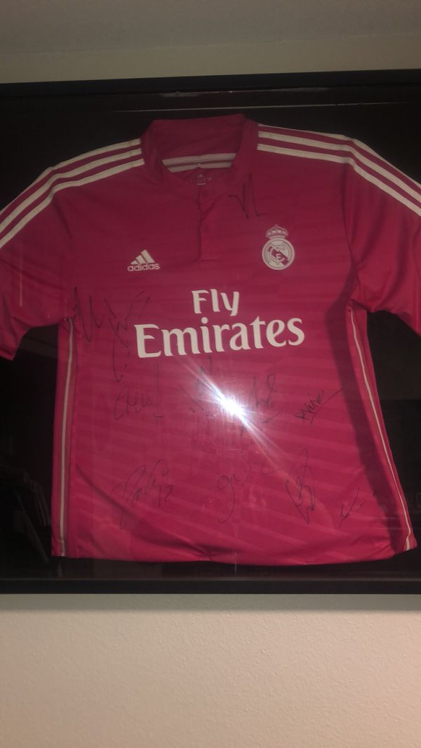 d12dff8b50d Signed real madrid Jersey for Sale in Los Angeles