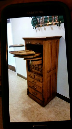 Antique Mahogany Dental Cabinet For Sale In Tampa Fl Offerup