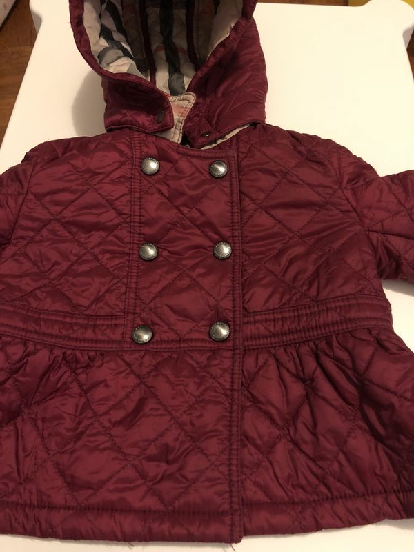 5d0902ae7a5 Burberry Girls Fall Jacket for Sale in Brooklyn, NY - OfferUp