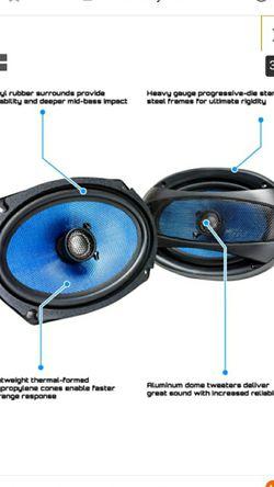 "BRAND NEW HIFONICS AlPHA 6x9"" COAXIAL SPEAKER WITH 400 WATT MAX POWER FIRM $75 Thumbnail"