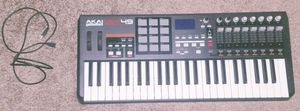 Akai professional mpk49 usb keyboard for music Production for Sale in Vista, CA