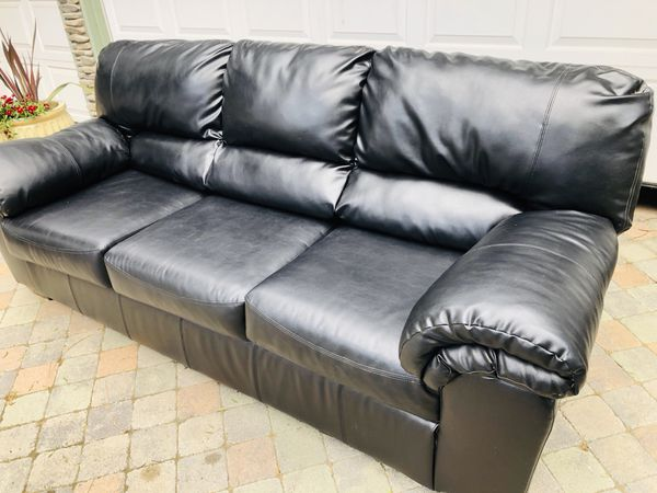 Faux Leather Sofa Couch for Sale in Mission Viejo, CA - OfferUp