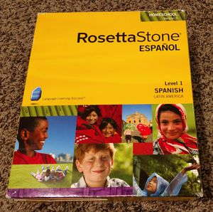 Rosetta Stone - Spanish for Sale in Vancouver, WA