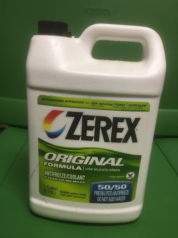 Antifreeze from Zerex (Green) 50/50 for Sale in Sanger, CA - OfferUp