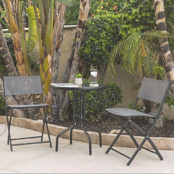 BRAND NEW 3 Piece Patio Set Outdoor Furniture Weather Rust ...