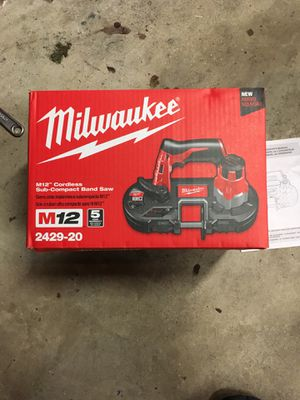 Milwaukee m12 bandsaw for Sale in Silver Spring, MD