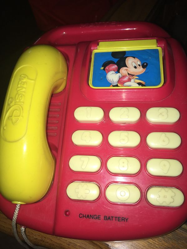 7490c65110e7b7 Vintage Mattel Disney Mickey Mouse Talking Phone for Sale in Valley ...