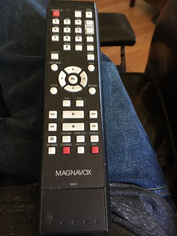Magnavox DVD/ vcr remote control for Sale in Tigard, OR - OfferUp