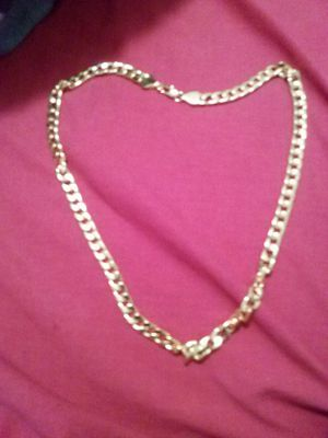 """Cuban link chain 18""""KT gold fill necklaces gold 28"""" inches long for Sale in Orlando, FL"""