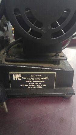 HPC key cutter Thumbnail