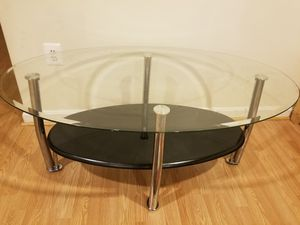 Glass coffee table for Sale in Leesburg, VA