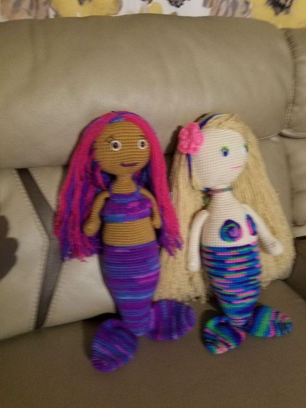 Crochet Mermaid Dolls For Sale In Hartford Ct Offerup