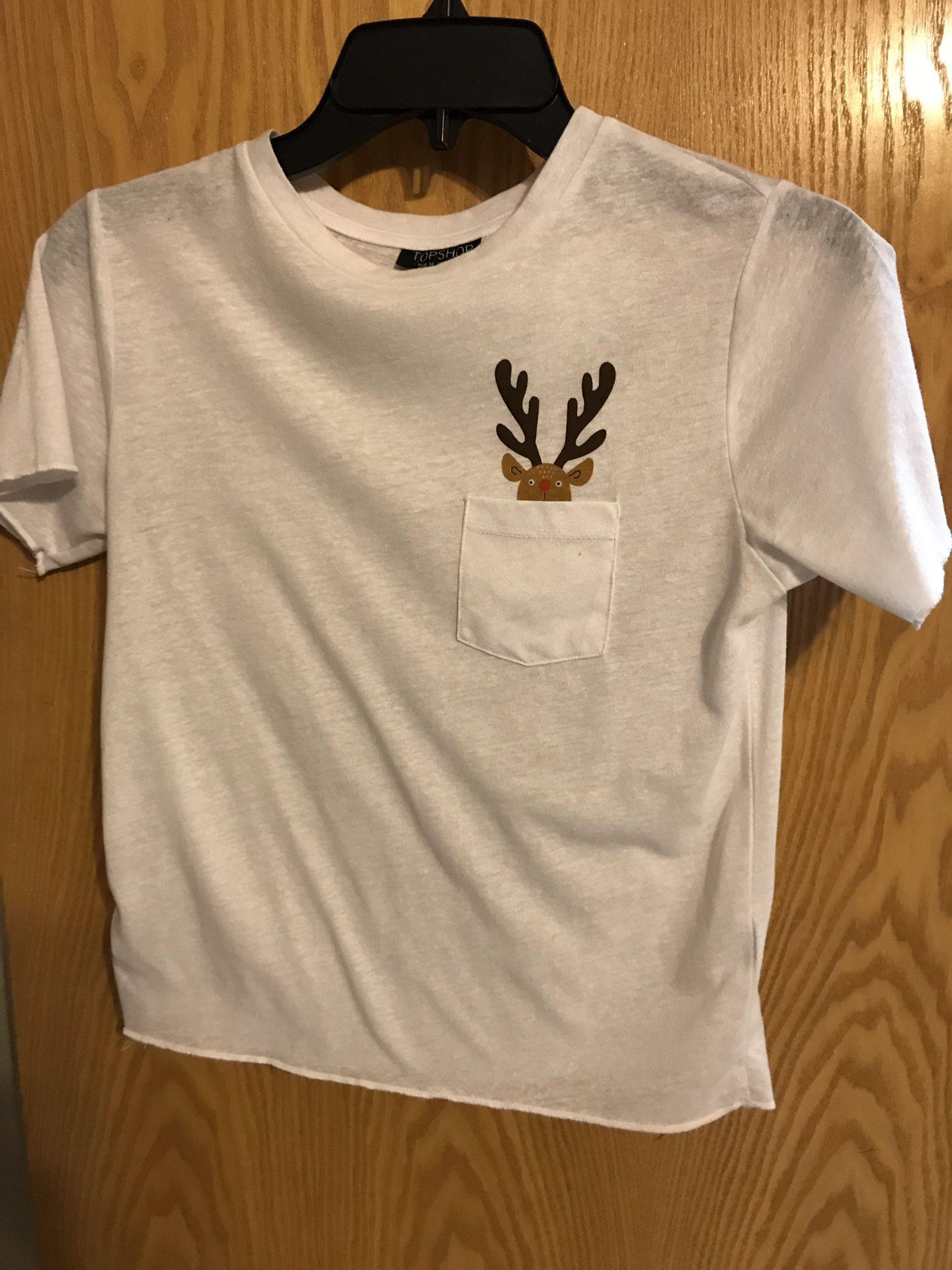 Top shop small shirt