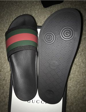 9df7ac7d5434 BRAND NEW MENS GUCCI SLIDES for Sale in Riverview