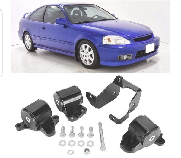New 1996 To 2000 Honda Civic Billet Motor Mounts For Sale