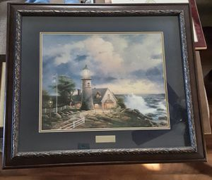 """A Light in the Storm"" by Thomas Kinkade Library Edition for Sale in Appomattox, VA"