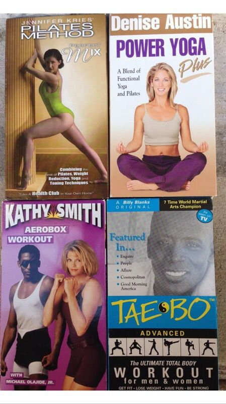 Lot of Workout Exercise VHS Tapes