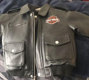 Harley-Davidson Motorcycle jacket-Child's size 5 for Sale in Rockville, MD