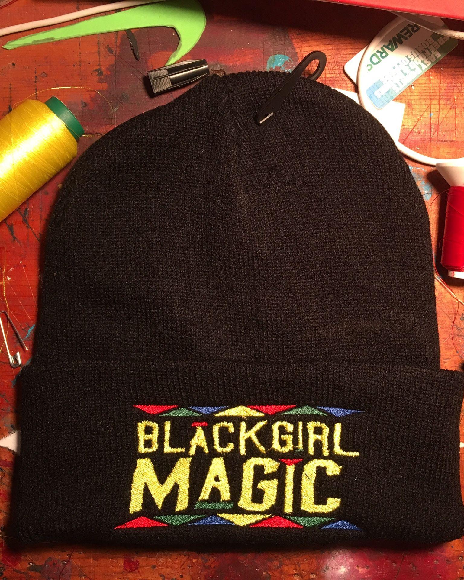 Black Girl Magic Beanies