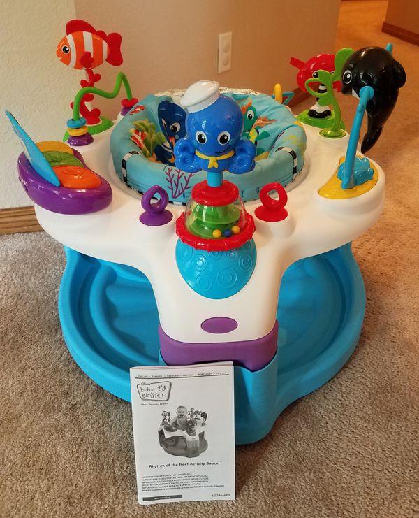6fdce1cbd431 Baby Einstein Activity Saucer for Sale in Waukesha