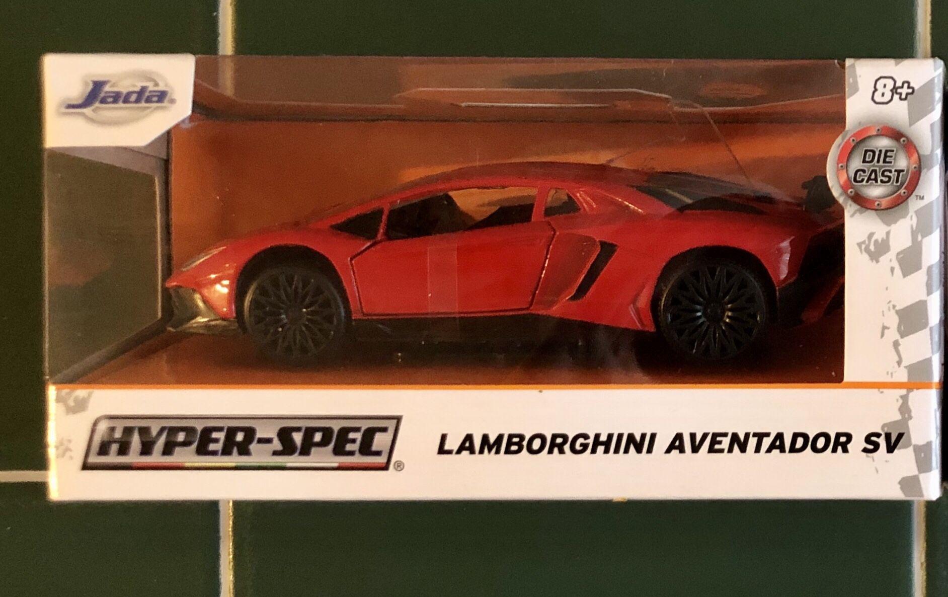 $17 Jada hyper spec Red lamborghini