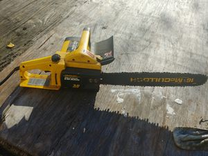 """McCullough 16"""" electric chainsaw for Sale in Silver Spring, MD"""