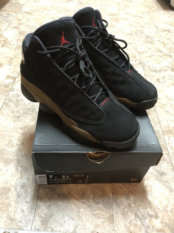 16256eec095 Jordan olive green 13s for Sale in Columbus, OH - OfferUp