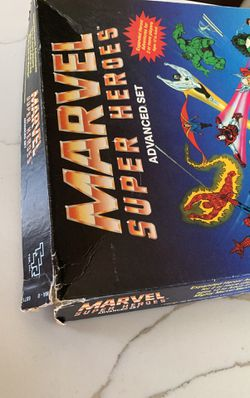 Marvel Super Heroes Advanced  Set Vintage  Thumbnail