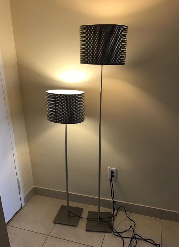 Ikea alang floor lamps 2 nickel plates grey cover for sale in open in the appcontinue to the mobile website aloadofball Choice Image