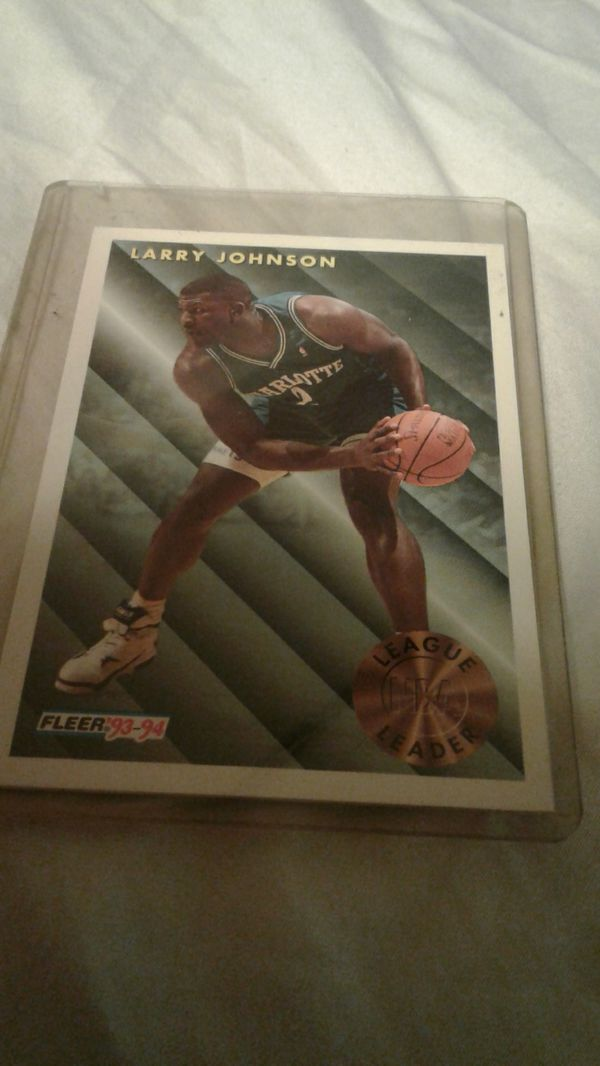 Larry Johnson Basketball Card223 For Sale In Jersey City Nj Offerup