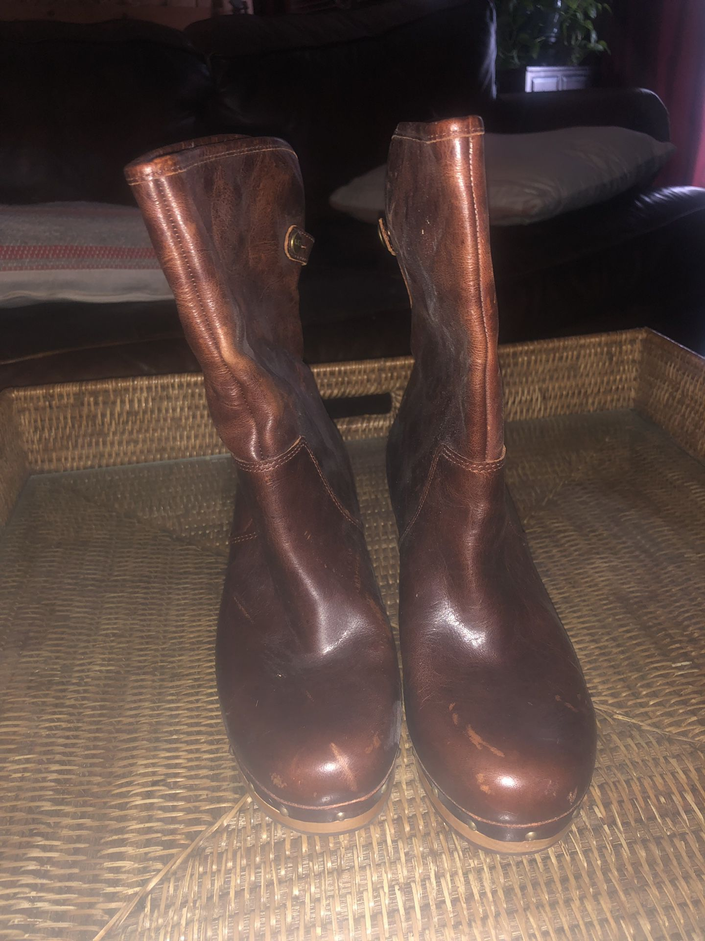 Uggs Leather Boots