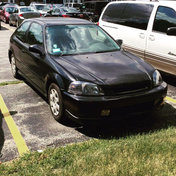 1998 civic hatchback dx