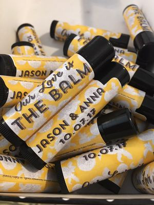 Wedding quincenera birthday party favors chapstick Lip Balm for Sale in San Diego, CA