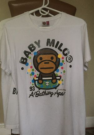 Baby milo bape T-shirt size large for Sale in Takoma Park, MD