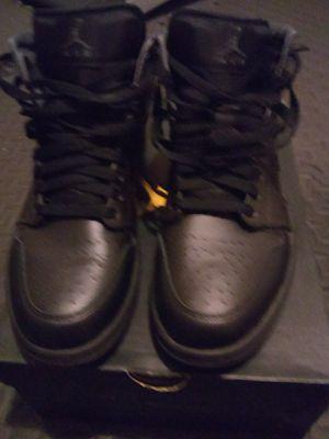 Black Jordan 1's (size 10 w/box) for Sale in Richmond, VA