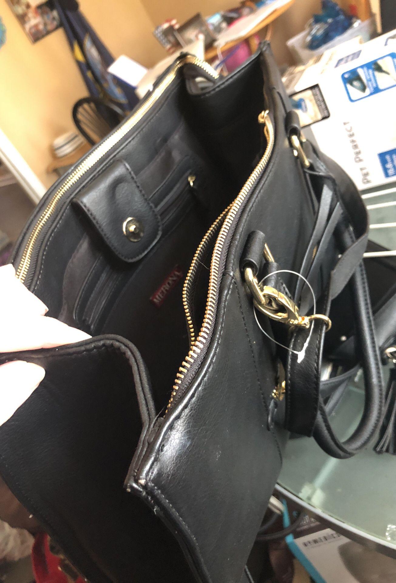Brand new target merona business purse multi purpose use