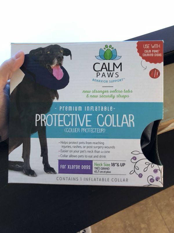 """XL """"e-collar"""" protective collar, no lick, no chew collar"""